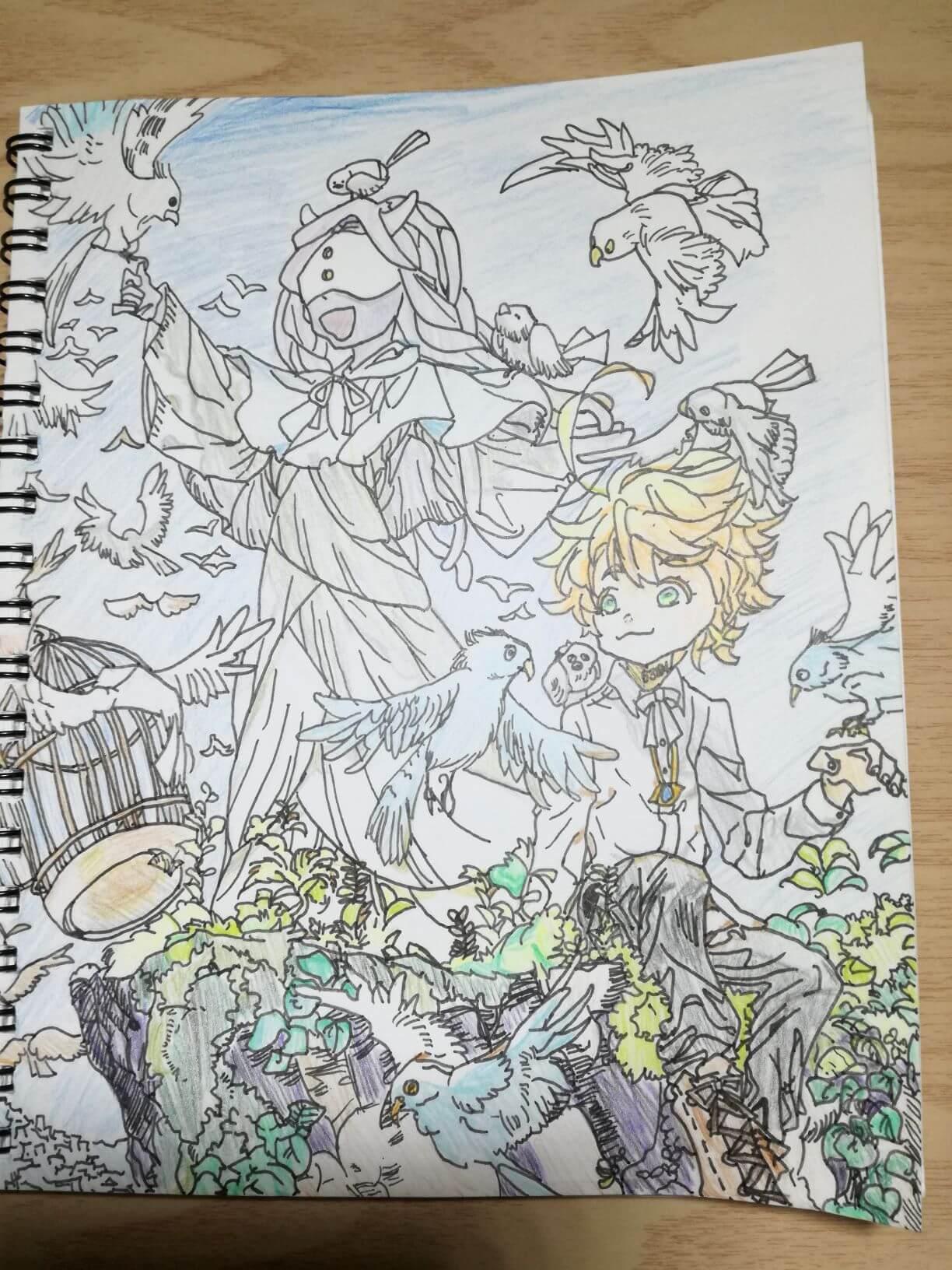エマとムジカと鳥